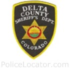 Delta County Sheriff's Office Patch
