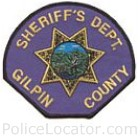 Gilpin County Sheriff's Office Patch