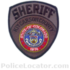 Kit Carson County Sheriff's Department Patch