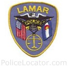 Lamar Police Department Patch