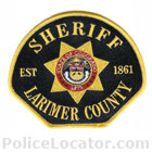 Larimer County Sheriff's Office Patch