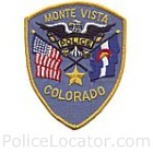 Monte Vista Police Department Patch
