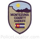 Montezuma County Sheriff's Office Patch