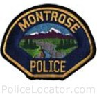 Montrose Police Department Patch