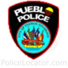 Pueblo Police Department Patch
