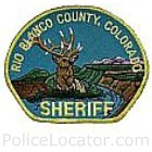 Rio Blanco County Sheriff's Office Patch