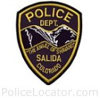 Salida Police Department Patch