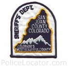 San Juan County Sheriff's Office Patch