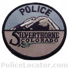 Silverthorne Police Department Patch