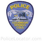 Steamboat Springs Police Department Patch