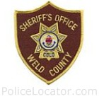 Weld County Sheriff's Office Patch