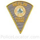 Berlin Police Department Patch