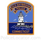 Old Saybrook Police Department Patch
