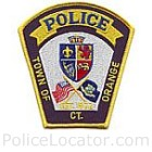 Orange Police Department Patch