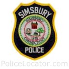 Simsbury Police Department Patch
