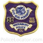Waterbury Police Department Patch