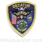 Decatur Police Department Patch