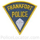 Frankfort Police Department Patch