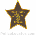 Fulton County Sheriff's Department Patch
