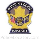 Goshen Police Department Patch