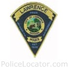 Lawrence Police Department Patch