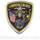 Lawrenceburg Police Department Patch