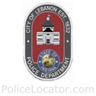 Lebanon Police Department Patch