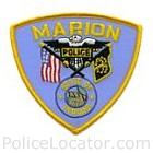 Marion Police Department Patch