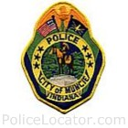 Muncie Police Department Patch