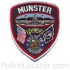 Munster Police Department Patch