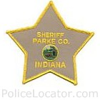 Parke County Sheriff's Office Patch
