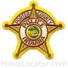 Porter County Sheriff's Department Patch