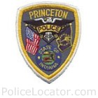 Princeton Police Department Patch