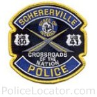 Schererville Police Department Patch