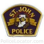 St. John Police Department Patch
