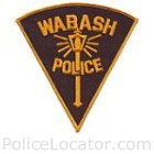 Wabash Police Department Patch