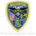 Walkerton Police Department Patch