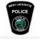 West Lafayette Police Department Patch