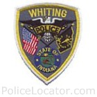 Whiting Police Department Patch