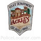 Ackley Police Department Patch