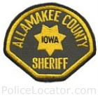 Allamakee County Sheriff's Office Patch