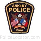 Ankeny Police Department Patch