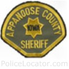 Appanoose County Sheriff's Office Patch