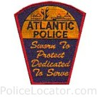 Atlantic Police Department Patch
