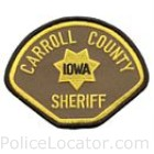 Carroll County Sheriff's Office Patch