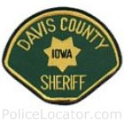 Davis County Sheriff's Department Patch