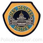 Des Moines Police Department Patch