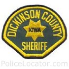 Dickinson County Sheriff's Office Patch