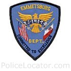 Emmetsburg Police Department Patch