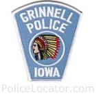 Grinnell Police Department Patch